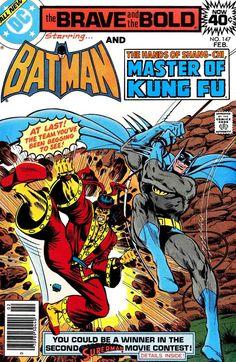 Brave & the Bold Vol. 25 No. 147 1979 Batman and Supergirl by TheSamAntics Dc Comic Books, Vintage Comic Books, Comic Book Covers, Vintage Comics, Comic Art, Dc Comics, Life Comics, Batman Comics, Westerns