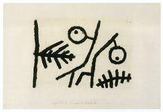 Paul Klee – Dancing Fruit, 1940