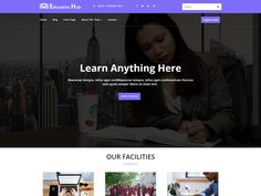 Education Institute – Template WordPress Gratis Wordpress Template, E Design, Templates, Education, Learning, Blog, Stencils, Studying, Vorlage