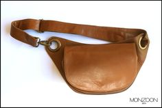 THIS ELEGANT LEATHER BAG IS UNIQUE! CAN BE USED AS A HIP BAG OR ACROSS SHOULDERS. AVAILABLE IN DIFFERENT LEATHERS. CHECK OUT ON WWW.MONZOONBCN.WORDPRESS.COM