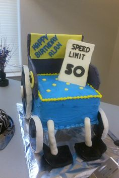 50th Birthday cake!!!!