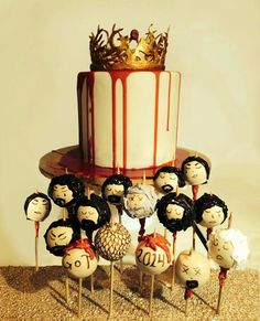 I don't watch game of thrones but I do love these cake pops, very clever :)