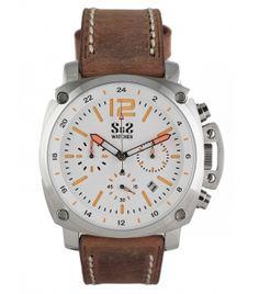 Reloj S&S Mod. GU-1916-BS Acero/Blanco