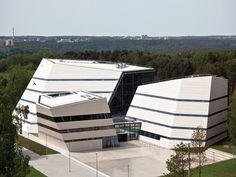 Vilnius University Library, Science Communication and Information center | PALEKO ARCH STUDIJA | Archinect