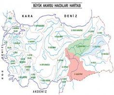 Türkiyenin Akarsuları ve Özellikleri