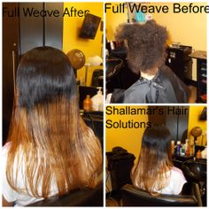 Sew In With Closure, Lace Closure, Full Weave, Full Sew In, Ombre Color, Weave Hairstyles, Bangs, Weaving, Dreadlocks
