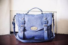 I love bags like this Lancaster Paris, Periwinkle Blue, All Things Purple, My Bags, Fashion Bags, Color Pop, Leather Bag, Bag Accessories, Periwinkle