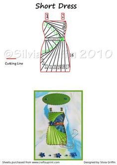 Short Dress on Craftsuprint designed by Silvia Griffin - Wedding or shower invitations with the right colors of your party