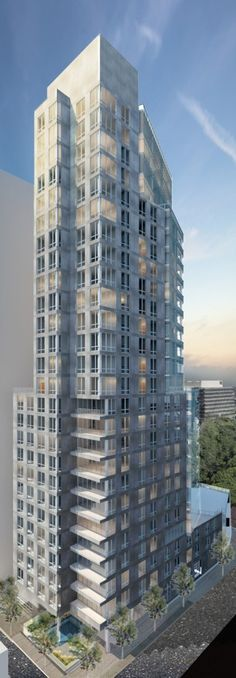 Ultra-Luxury High-Rise Tower Designed By Cecil Baker