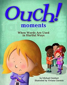 "A kid-friendly explanation of ""ouch moments"" plus practical strategies for what kids can do to help, and to stand up to mean and hurtful language. Genhart clearly articulates how, when bullying occurs, it can be hard to know what to do. Elementary School Counseling, School Social Work, School Counselor, Elementary Schools, Teaching Social Skills, Social Emotional Learning, Teaching Kids, Bullying Prevention, Guidance Lessons"