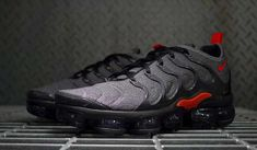 outlet store 9351c a5c5c Nike Air VaporMax Plus   Cool Grey Team Orange   Mens Trainers  924453-