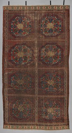 Carpet  Date: first half 15th century Geography: Made in, Murcia, Spain