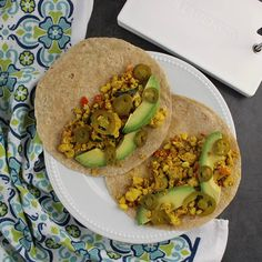 Take your next scrambie to the next level with Tofu Scramble Breakfast Tacos!