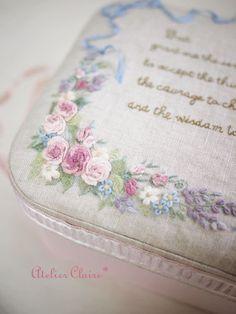 東京・自由が丘 井上ちぐさの刺繍&カルトナージュ教室 Atelier Claire(アトリエクレア)の画像 エキサイトブログ (blog)