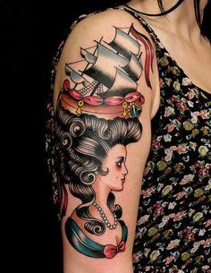 Tattoo art by Russ Abbott