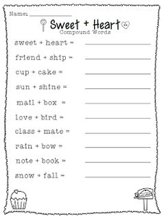 Crisscross Applesauce In First Grade: Linking up With Love *Valentine's Day Freebie* School Holidays, School Fun, Summer School, School Stuff, Middle School, High School, Word Study, Word Work, First Grade Writing