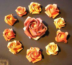 Origami Maniacs: Kawasaki Rose