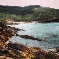 Playa de Nemiña en Cee, Galicia
