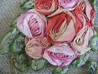 Antique Dress Millinery roses trim
