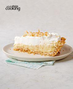 Toasted Coconut Cream Pie #recipe
