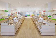 emmanuelle moureaux's zoff optical store at mitsui outlet park in iruma, japan