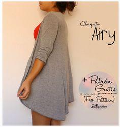 Cardigan Airy + Patrón gratis (Free Pattern)