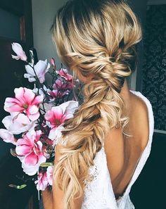 Love this beautiful braid! #bride #WeddingHair