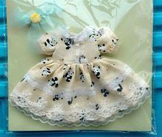 1/6 bjd girl dress lovely panda dress yosd clothes BB dress daily dress