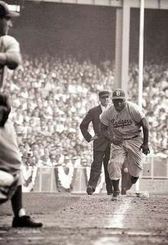 1955. Stealing home.