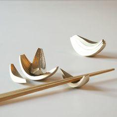 Metal Onion pieces for chopsticks