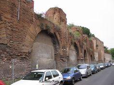 L' Acquedotto Neroniano in Via di S. Stefano Rotondo 2005