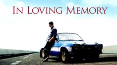 I'll never forget !! thank u so much. A Tribute to Paul Walker. May you rest and peace. #RipPaulWaker