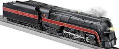 Polar Railroad Legacy O-Scale 4-6-2 K-4 Holiday Train Set with Oval Track