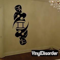 Twins Zodiac Wall Decal - Vinyl Decal - Car Decal - CC012