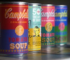 Fancy - Andy Warhol 50th Anniversary Campbell's Soup Cans