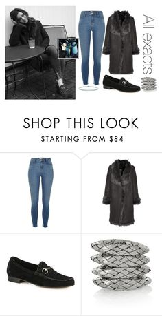 """""""Eleanor Calder on IG"""" by lifeisworthlivingagain ❤ liked on Polyvore featuring River Island, Karl by Karl Donoghue, Gucci, Bottega Veneta and Tiffany & Co."""