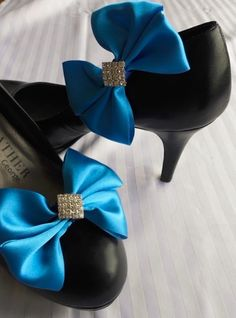 Diamanté Diamond Shoe Clips