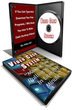 Video Cash System Video Series + 22 YouTube Video Course!!! If you have not discovered video marketing for your business or products, you are losing out some free and easy traffic. Not to mention making your product look professional. What if you could use totally free software programs to make these videos?