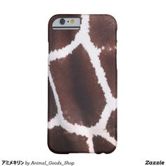 アミメキリン iPhone 6 ベアリーゼアケース