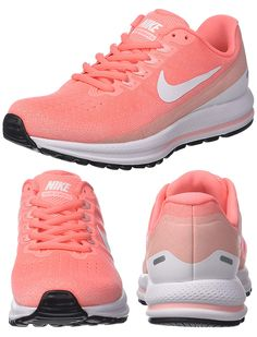 How to wear Orange. Trainers with Living Coral. Pantone Colour of the Year 2019 Living Coral. Eyeshadow in Living Coral. How to Wear Pantone Colour of the Year 2019 Living Coral. Kentucky Derby Outfit, Coral Shoes, Derby Outfits, Coral Dress, Spring Trends, Color Of The Year, Pantone Color, Dresses Uk, Air Max Sneakers