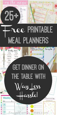 Meal Planning!!!