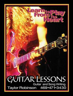 Learn To Play From Heart