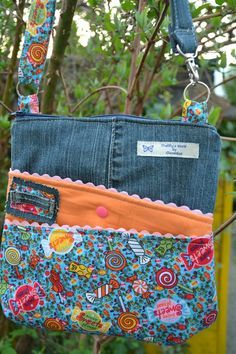 Repurpose Jeans  Use Scrap Fabric - ZICKY ZACKY BAG