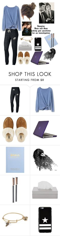 """""""Imagine Pt 2"""" by letstraveltheskies ❤ liked on Polyvore featuring NIKE, Gap, UGG, Speck, kikki.K, poppin., Villari, Alex and Ani, Givenchy and kitchen"""