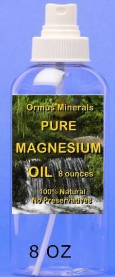 Pure Magnesium oil 8oz