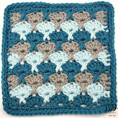 Being by the ocean is calming, and if you were working up this Stormy Seas Granny Square while near it, despite the name, it would be relaxing as well! This square's seashell-like pattern is perfect for any afghan, pillow, or coaster you can imagine. The grey and blue crocheted square would look beautiful in homes near and far from the seaside, and would give any room a soothing aura with its soft colors.