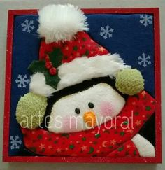 Cojin Felt Christmas, Christmas Stockings, Cute Penguins, Christmas Decorations, Holiday Decor, Applique, Alice, Teddy Bear, Toys