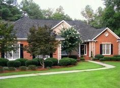 Image result for How to Choose Roof Shingle Color for orange brick