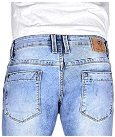 YellowJeans Men's Slim Fit Jeans (Ice Cloud wash Effect with Ripped and Repaired Styling, 28W x 42L): Amazon.in: Clothing & Accessories Yellow Jeans, Slim Man, Denim Shorts, Fitness, Pants, Men, Clothes, Fashion, Trouser Pants