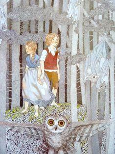 Illustration - Conte de Grimm